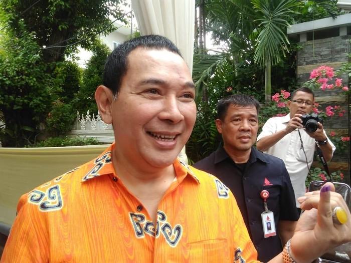 Tommy Soeharto gunakan hak suara