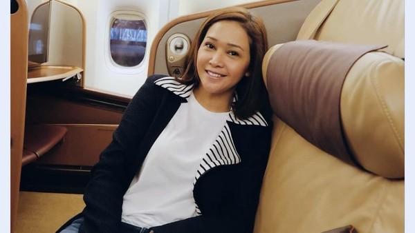 Usai Nyoblos, Maia Estianty Cabut dari Indonesia