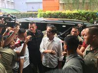 Jokowi tiba di Djakarta Theater