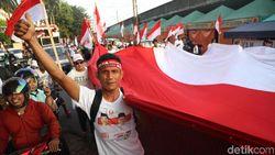 Video Sorak Sorai Pendukung Jokowi Melihat Hasil Quick Count