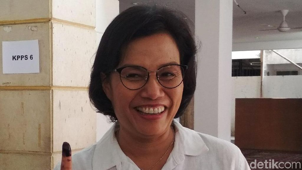 Gaya Nyoblos Menteri Jokowi: Semua Putih, Kecuali Opung Darmin