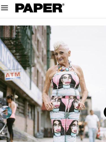 Ini Si Nenek Flamboyan Berusia 82 yang Cari Jodoh Lewat Tinder