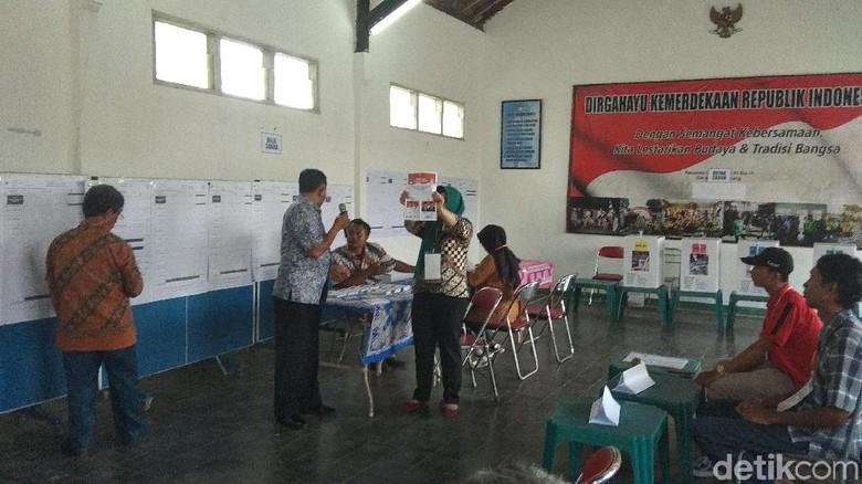 Jokowi-Maruf Unggul di TPS Bibit Waluyo