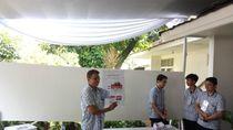 Perhitungan Sementara di TPS JK: Jokowi 133 Suara, Prabowo 58 Suara