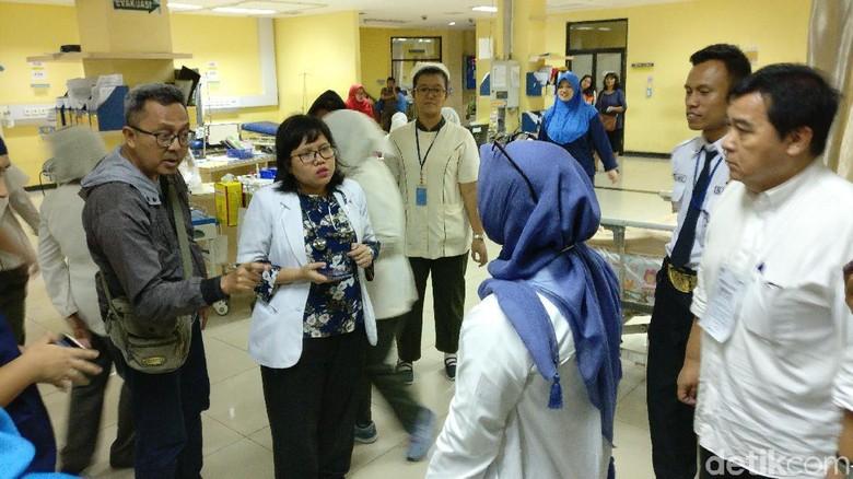 Keluarga Pasien dan Pegawai RS Fatmawati Kecewa Tidak Bisa Nyoblos