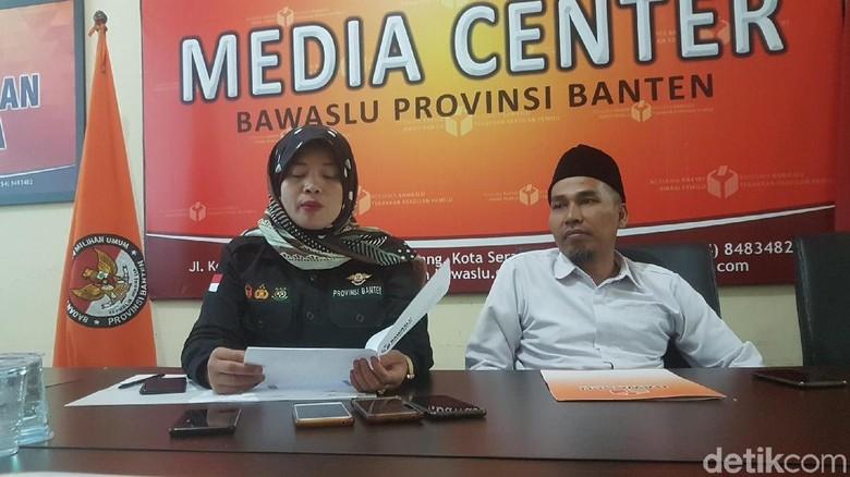 Temuan Bawaslu Banten: Persoalan Surat Suara hingga tak Taat Prosedur