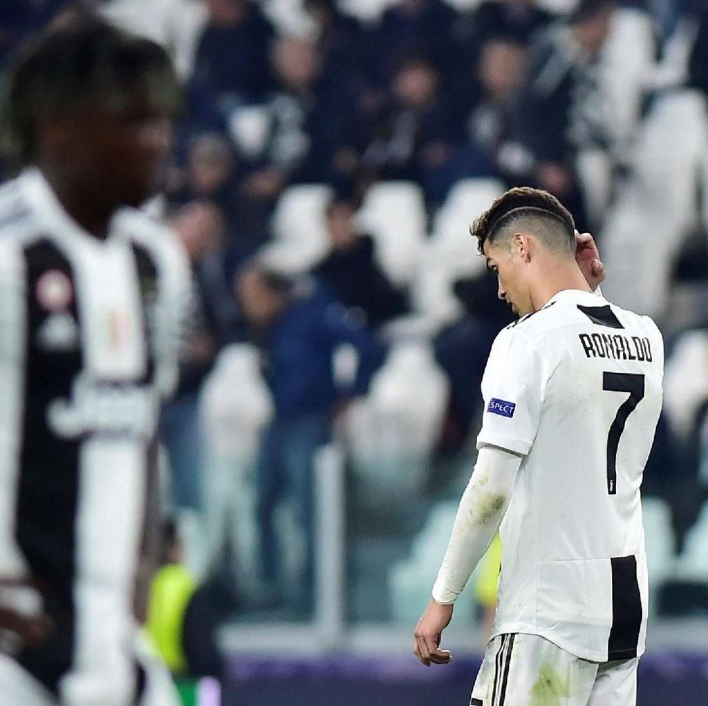 Juventus Tersingkir, Ronaldo Hengkang Lebih Awal?