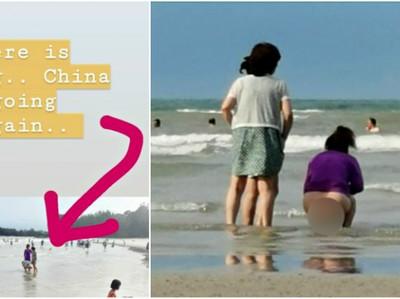 Tren Baru Turis Nakal: BAB di Pantai