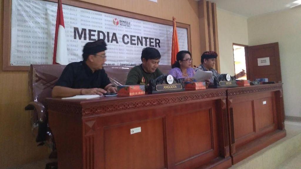 Catatan Bawaslu Bali: Distribusi Logistik Telat hingga Politik Uang
