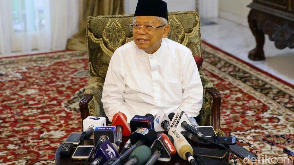 Manuver Prabowo Dipahami Maruf Amin