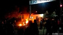 Ekses Geruduk Pos TNI AL Pusong, Penghitungan Suara di TPS Disetop