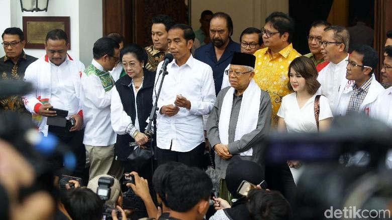 Jokowi Ungkap Hasil 12 Quick Count