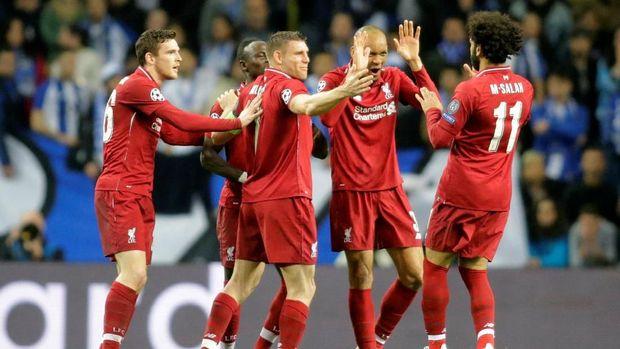 Liverpool kembali tampil impresif saat menghadapi FC Porto.