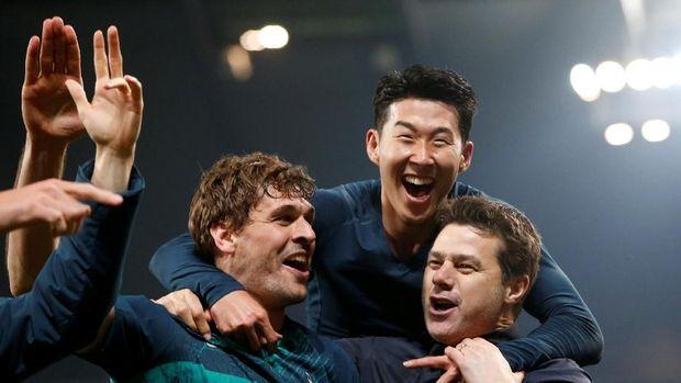 Mauricio Pochettino berhasil membawa Tottenham ke semifinal Liga Champions tanpa membeli pemain.