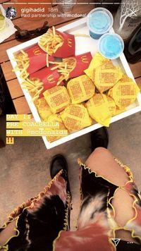 Jadi Influencer untuk McD, Gigi Hadid Buat Fansnya Kesal
