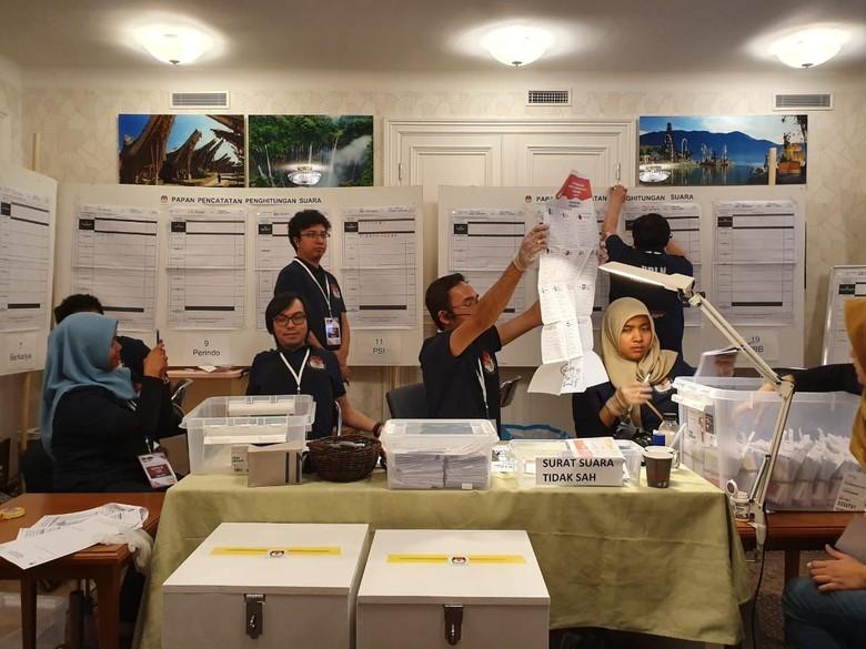 Jokowi-Maruf Menang Telak 82% di Swedia dan Latvia
