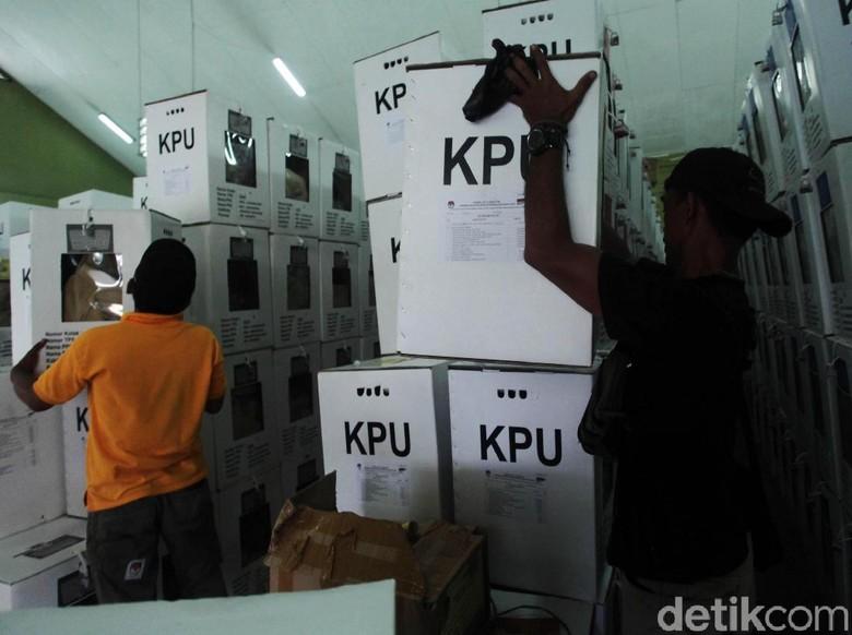 Polisi Tangkap Pembakar Kotak Suara Pemilu di Jambi
