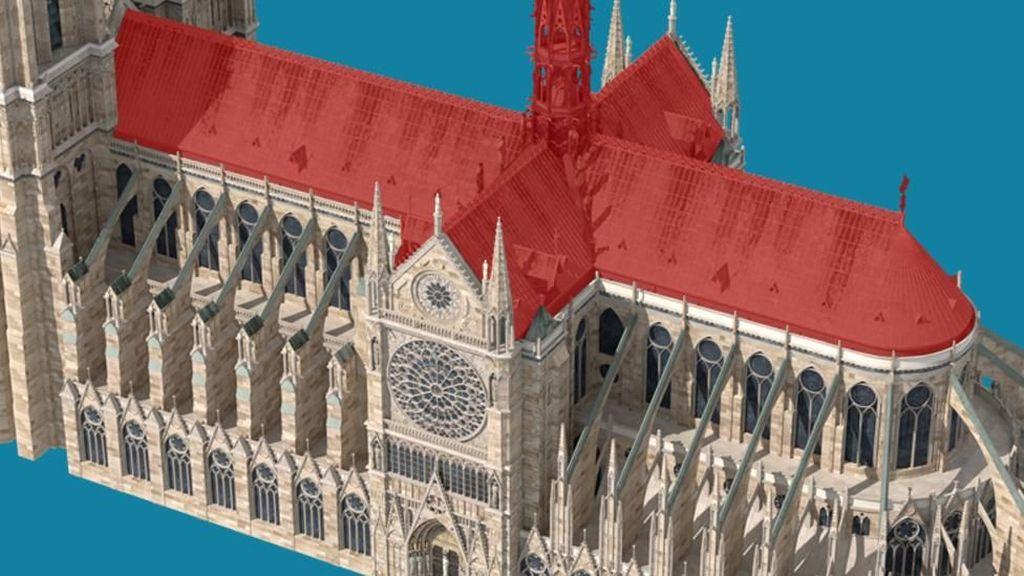 Kisah Terjadinya Kebakaran Katedral Notre-Dame dalam Gambar