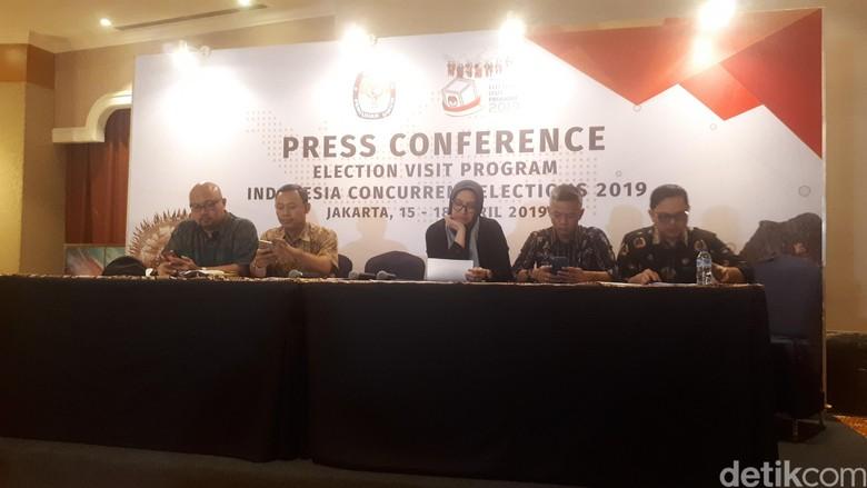 KPU: 2.249 TPS Tak Dapat Lakukan Pemungutan Suara 17 April 2019