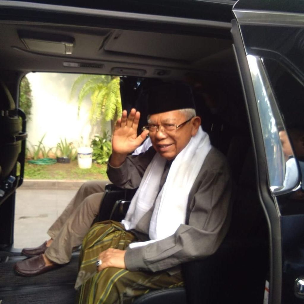 Maruf Amin Menolak Sapaan Siap Wapres!