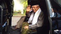 Maruf Amin Tiba di Plataran Menteng, Temui Jokowi dan Ketum Parpol