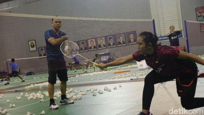 Rionny Mainaky sekarang melatih tunggal putri Indonesia (Grandyos Zafna/detikSport)