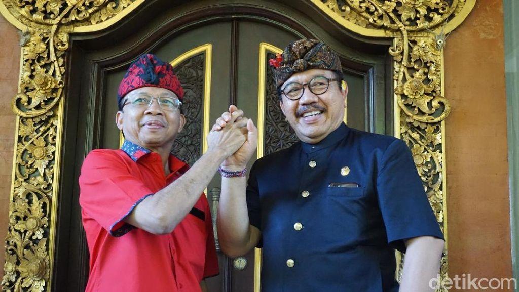 Jokowi Unggul QC 90% di Bali, Gubernur Koster Semringah