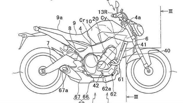 Paten Mesin Turbocharge Yamaha MT07,