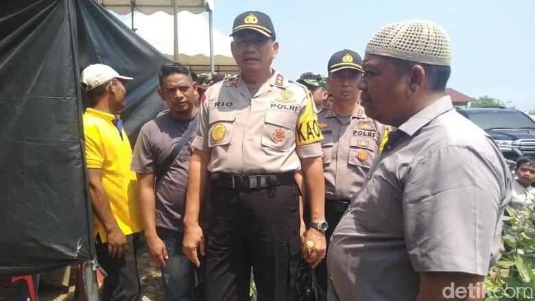Datangi Pos TNI Pusong, Kapolda Aceh Jamin Situasi Sudah Kondusif