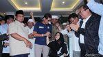 Didampingi Sandiaga, Prabowo Deklarasi untuk Ketiga Kalinya