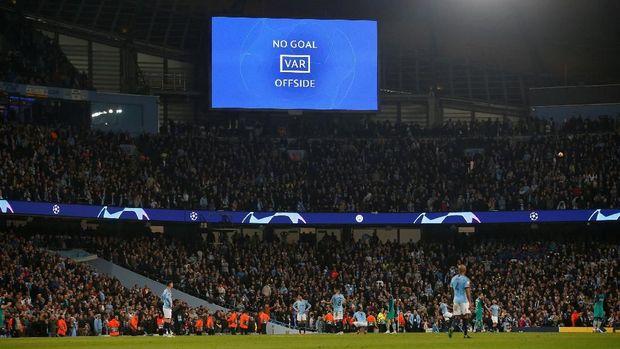 Man City terancam dilarang bermain di Liga Champions.