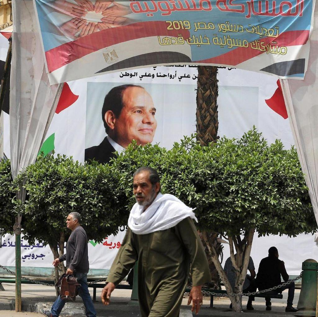 Dimulai, Referendum Mesir Untuk Perpanjang Kekuasaan Presiden Al-Sisi