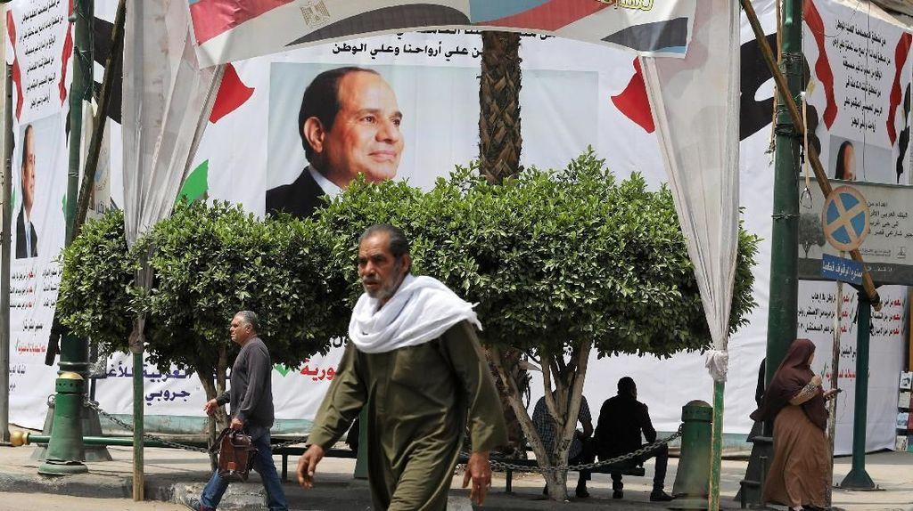 Hampir 90% Rakyat Mesir Setujui Presiden Sisi Berkuasa Hingga 2030