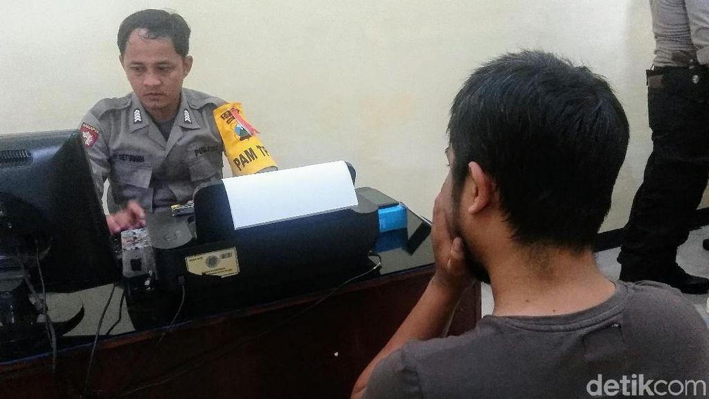 Pria di Bondowoso Jadi Bulan-bulanan Warga karena Jambret HP