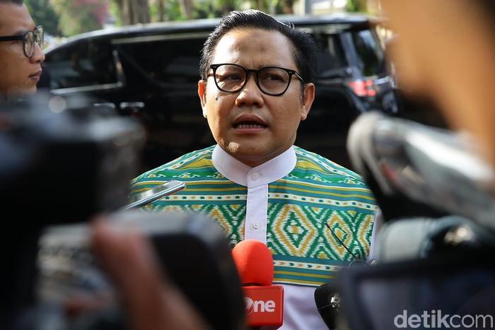 Ketua Umum PKB Muhaimin Iskandar atau Cak Imin (Grandyos Zafna/detikcom)