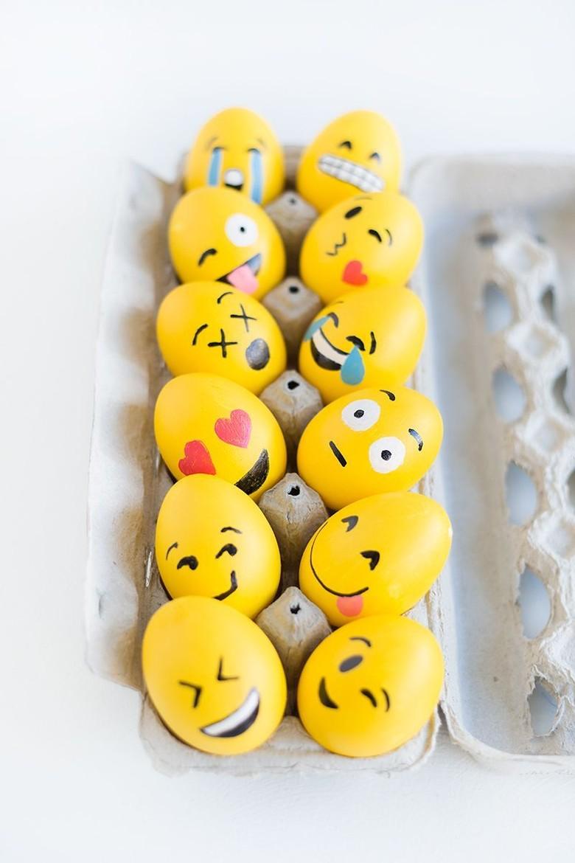 Emoji yang biasa dipakai untuk chat, bisa jadi inspirasi. Foto: via Brainberries