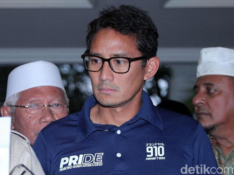 Erwin Aksa Soal Ekspresi Sandi Saat Prabowo Deklarasi: Lagi Sakit