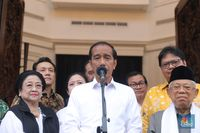 Pernyataan Lengkap Jokowi: Quick Count, Sampai Prabowo-Sandi