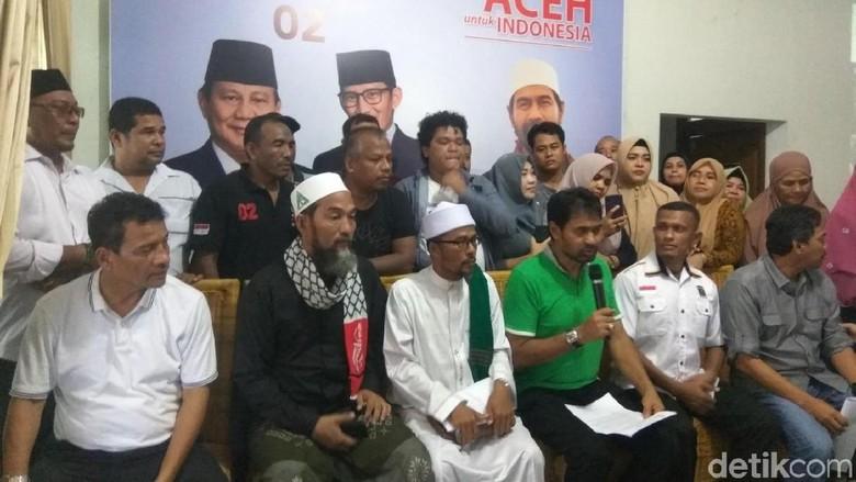 BPD Sebut Kemenangan Prabowo-Sandi di Aceh di Luar Target