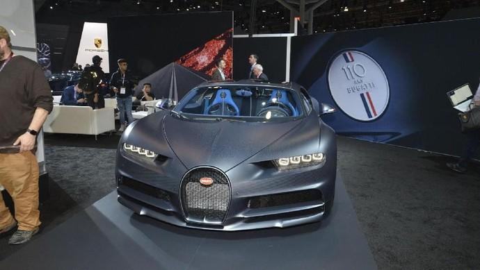 Bugatti Pamer Chiron Edisi Spesial 110 Tahun
