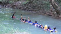 Foto: Asyiknya Body Rafting Menaklukkan Sungai Citumang