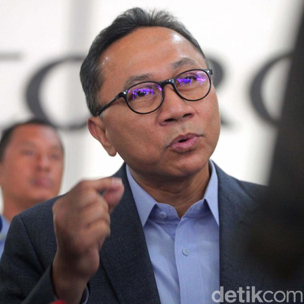 Amien Rais Bicara Rekonsiliasi 55-45, Zulkifli Dukung Jokowi Tanpa Syarat