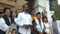 Jokowi Ungkap Hasil 12 Quick Count: Jokowi-Amin 54,5% Prabowo-Sandi 45,5%