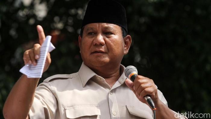 Capres Prabowo Subianto (Rifkianto Nugroho/detikcom)