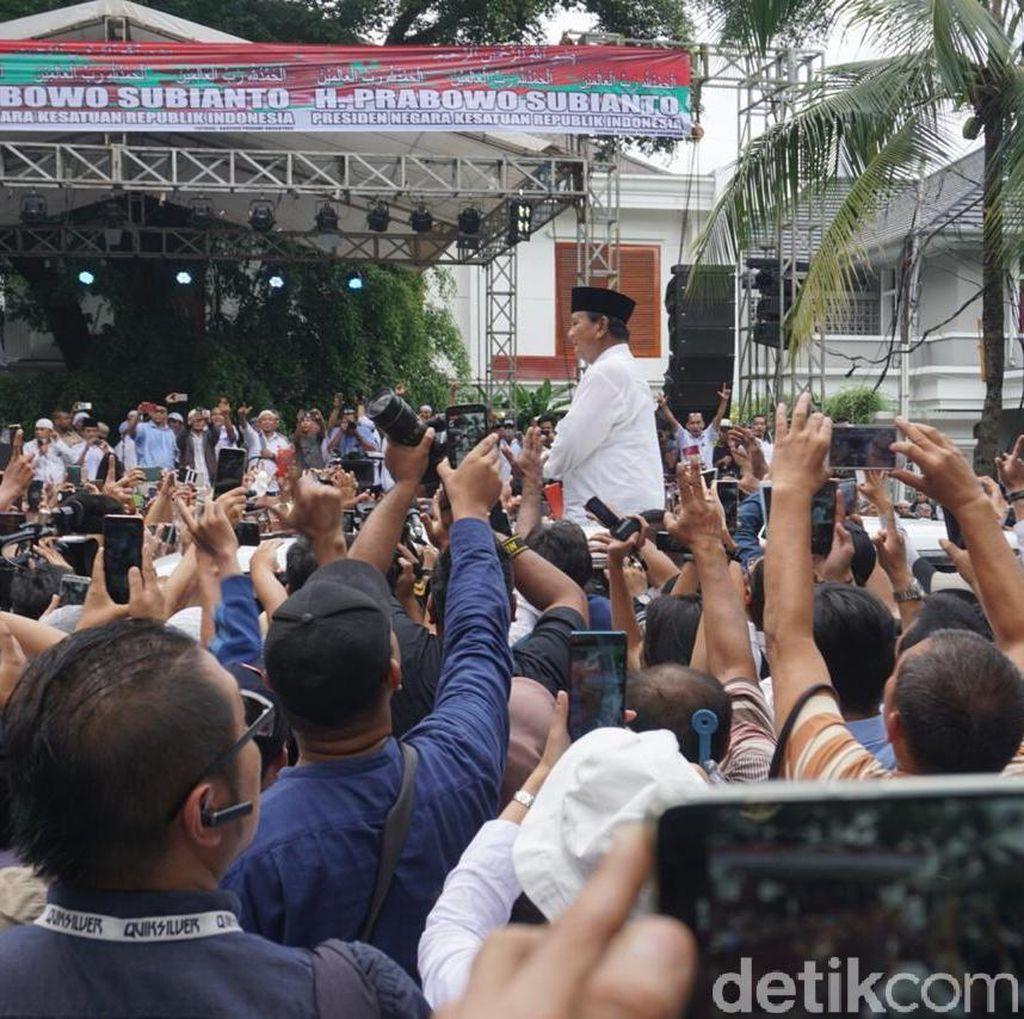 150 Personel Polisi Amankan Syukuran Kemenangan Prabowo-Sandi