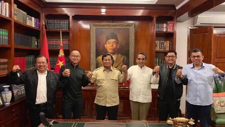 Prabowo Terima Sekjen Parpol Koalisi, BPN Pastikan Solid
