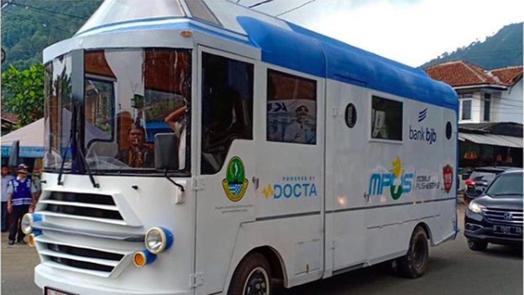 Ridwan Kamil Kenalkan Bus Unik yang Dipanggil MPus