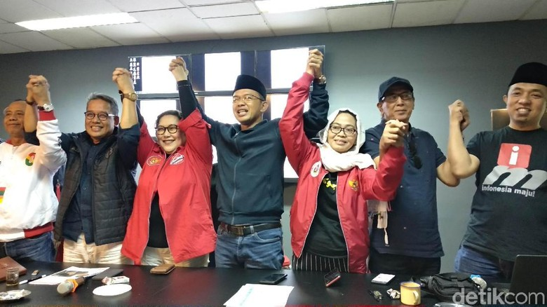 Relawan Jokowi Setuju Cebong-Kampret Dikubur: Kembali ke Persatuan Indonesia