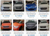Wow, Bea Cukai Lelang 28 Mobil Subaru Rp 100 Jutaan
