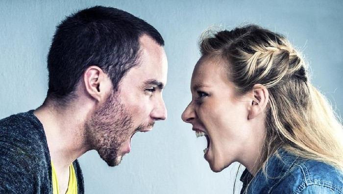 Ilustrasi pasangan bertengkar. (Foto: istock)